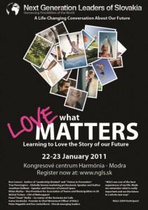 NGLS - konferencia budúcich lídrov