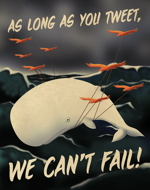 twitter propaganda poster 2