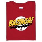 Geek tričko Bazinga poznáte zo seriálu The Big Bang Theory