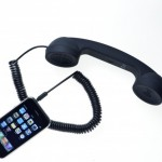 Retro slúchadlo pre smartfóny